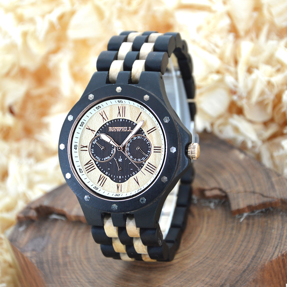 Bewell Wooden B3 Wz116c Witty Watches Online Shop