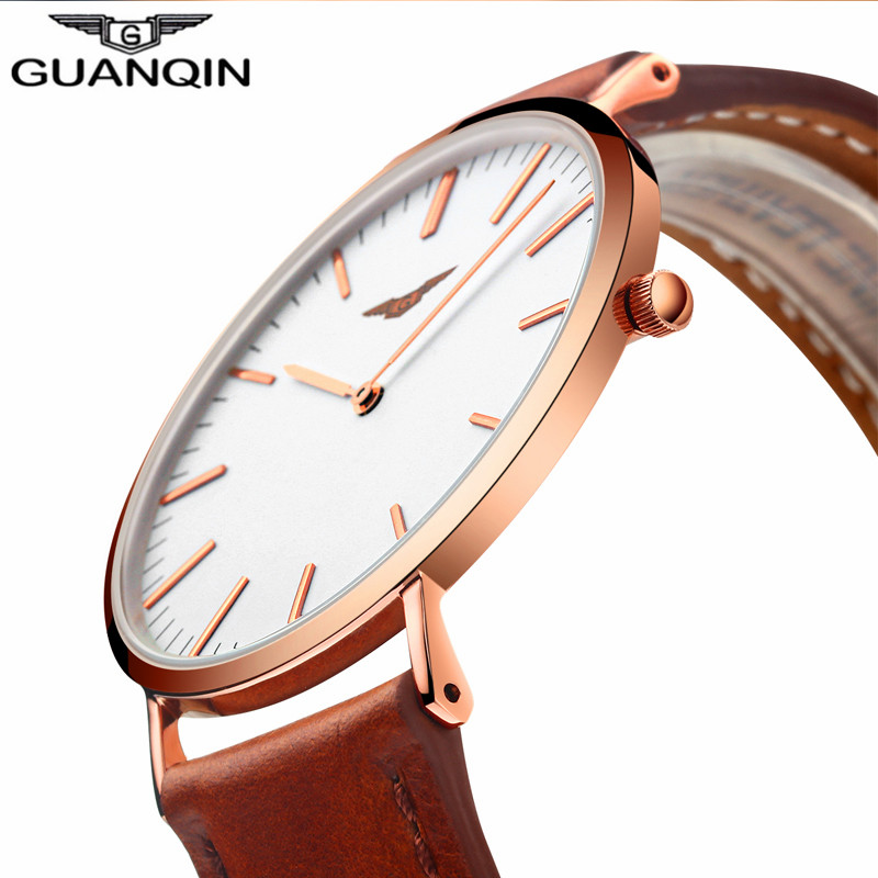 3954f2c5ea4e GUNQIN DW style CO13-GS19050.  78.27  39.14. GUANQIN STORE. DW style  Ultrathin New Mens Watches Top Brand Luxury Quartz Watch Men DW style  Fashion Leather ...