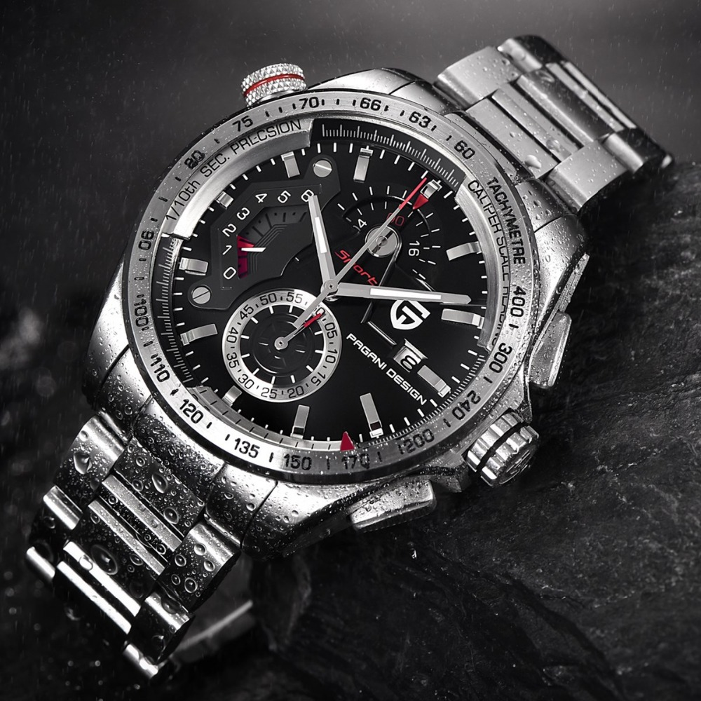 pagani design chronograph sport watch pd-cx2492c | witty watches
